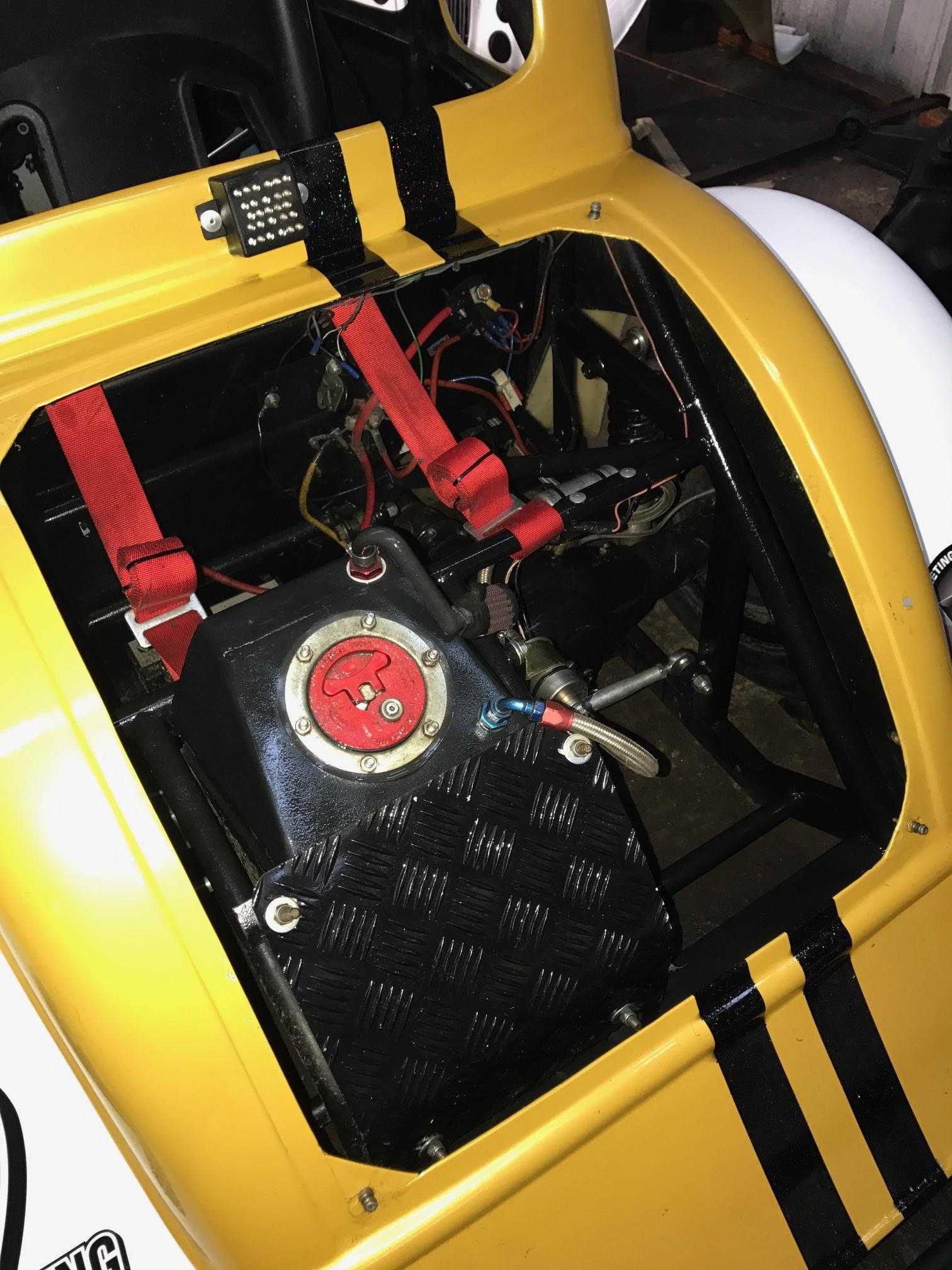 9 Seater Car >> Multiple Championship winning Legends Race Car Complete Set Up Including Tilt Bed Trailer. Stock ...