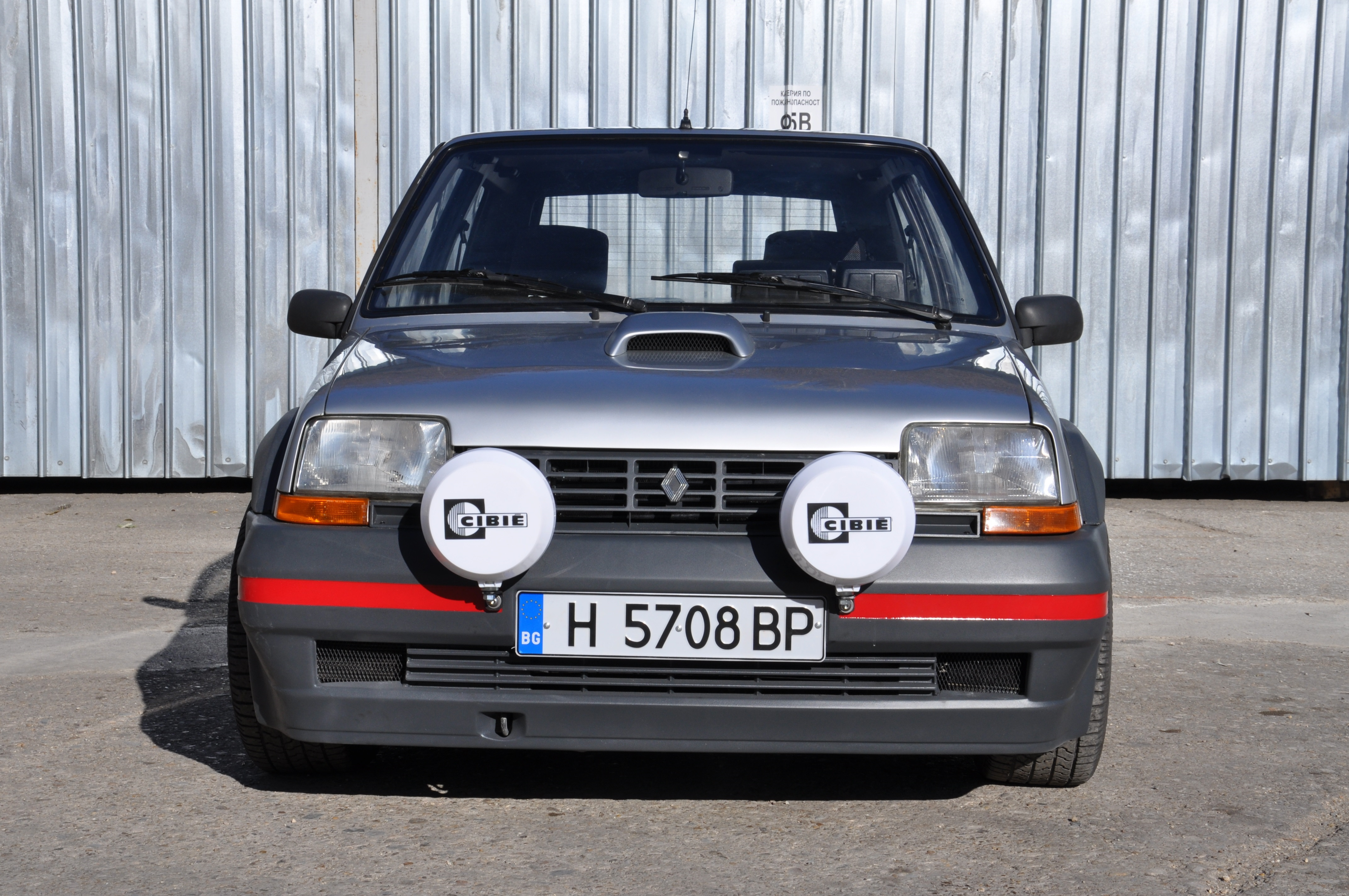 renault 5 gt turbo coupe rally cars for sale at raced rallied rally cars for sale race. Black Bedroom Furniture Sets. Home Design Ideas
