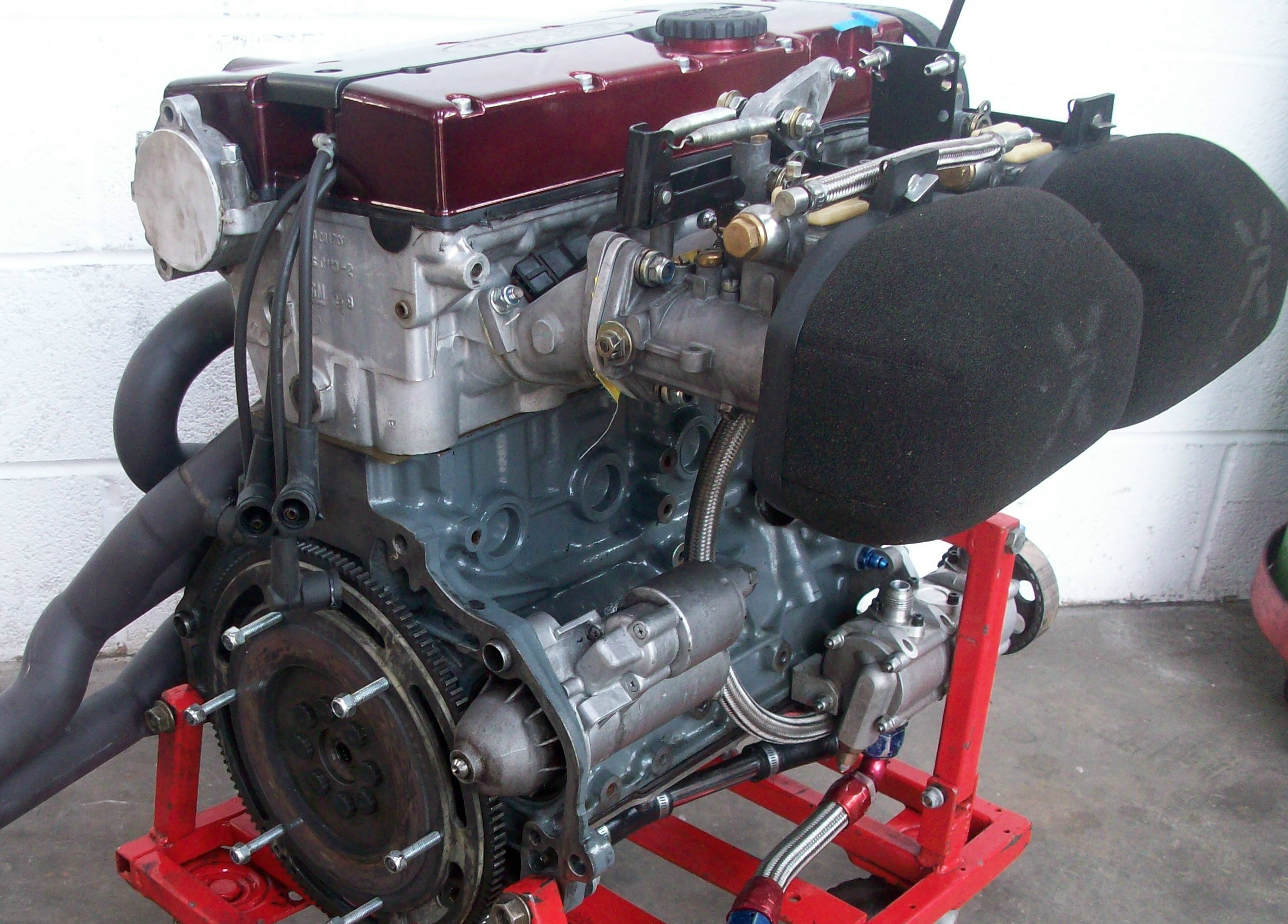 vauxhall redtop full race engine race car parts  sale  raced rallied rally cars