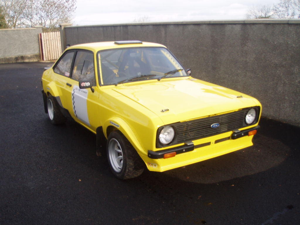 Race Cars For Sale At Raced Rallied: Ford Escort Mk2 Grp 4 Rally Car