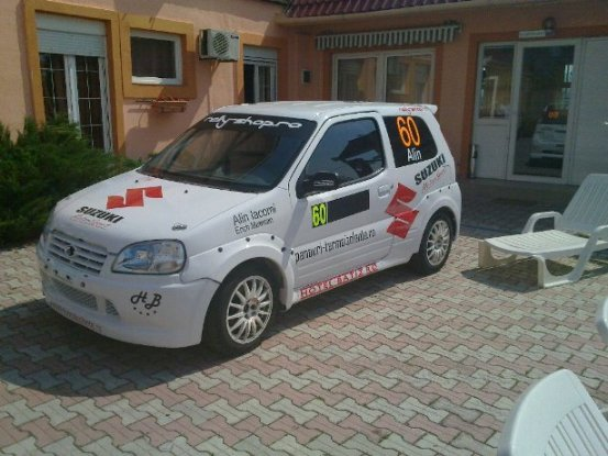 suzuki ignis sport brand new complet rebuild rally cars for sale at raced rallied rally. Black Bedroom Furniture Sets. Home Design Ideas