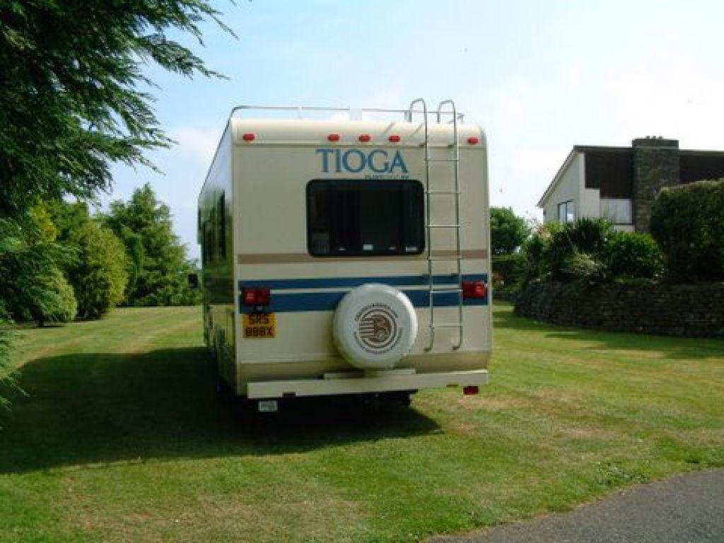 Fleetwood Tioga Rv Ideal Race Rally Vehicle Trailers
