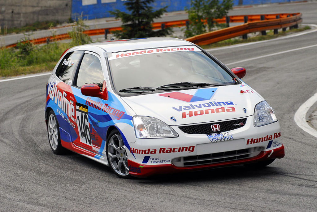 Honda civic type r race cars for sale at raced rallied for Honda civic race car