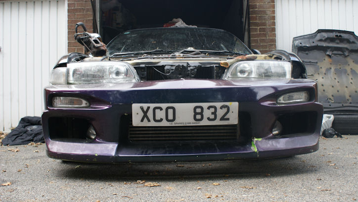 Performance Trackday Cars For Sale At: NISSAN 200SX S13.4 UN-FINISHED PROJECT