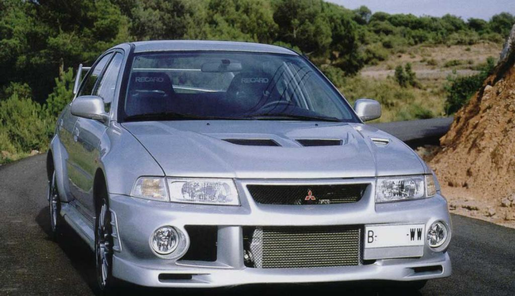 Performance Trackday Cars For Sale At: MITSUBISHI EVO VI - LIMITED EDITION