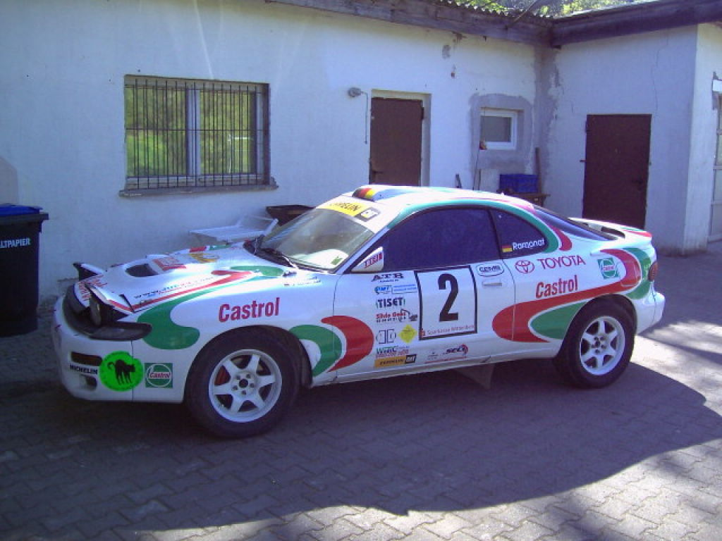 Race Cars For Sale At Raced Rallied: Toyota ST 185 Grup.H, In Gravel Spec.