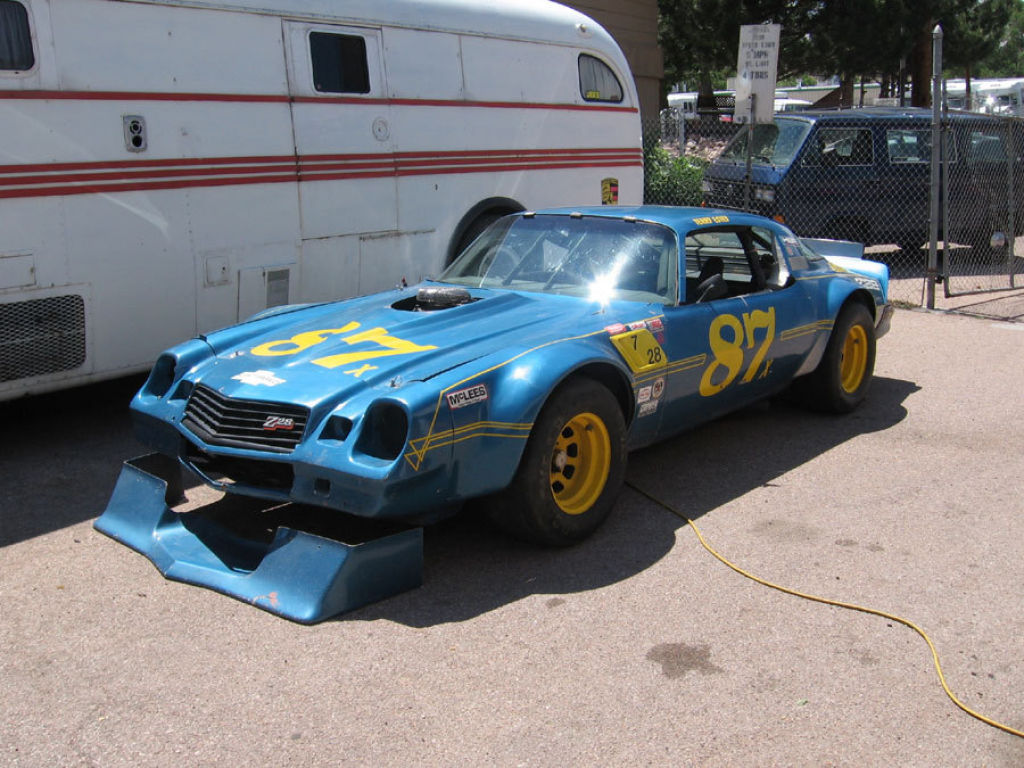 1978 pensky iroc camaro classic vintage cars for sale at raced rallied rally cars for. Black Bedroom Furniture Sets. Home Design Ideas