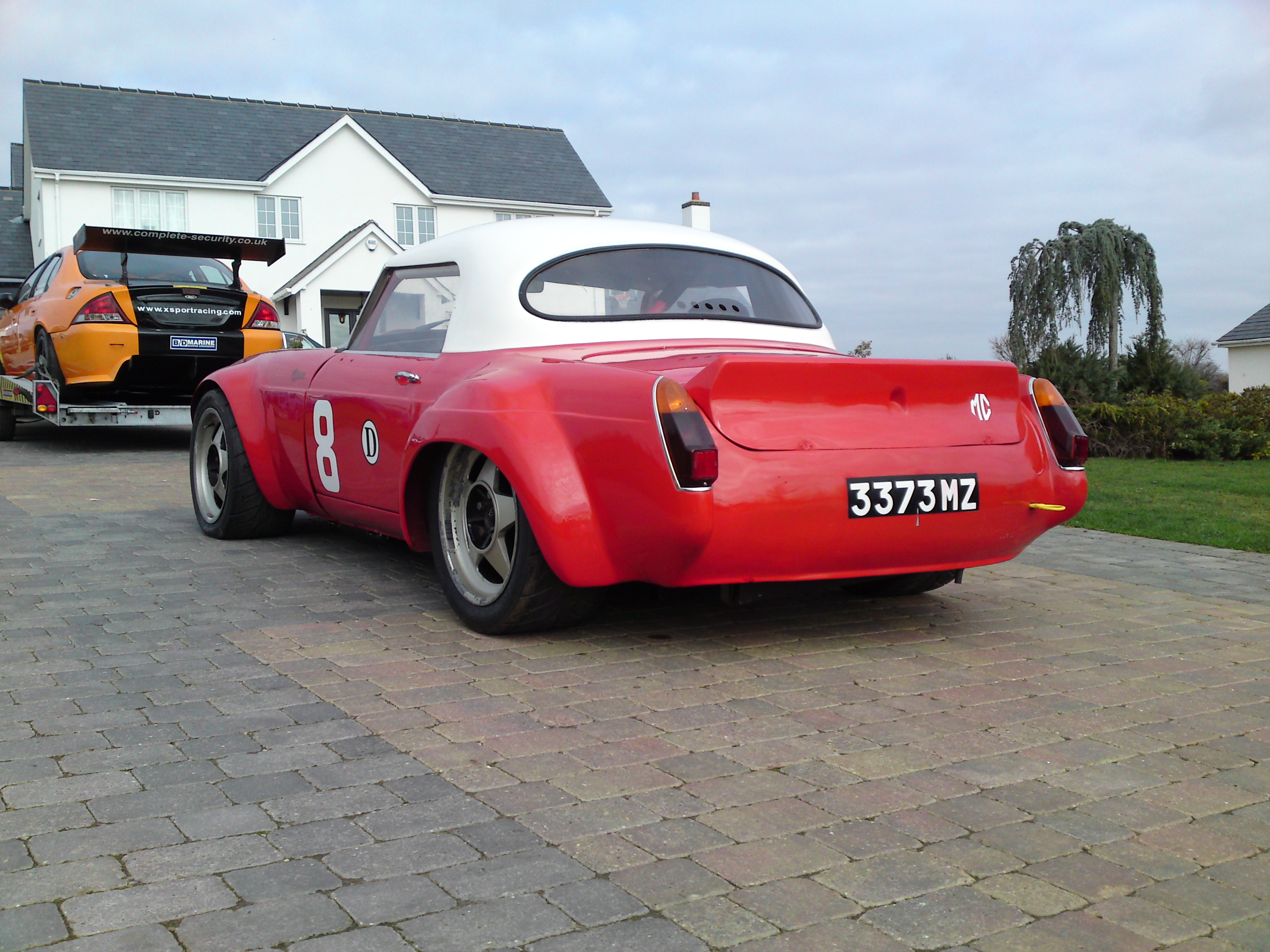 Mgb Race Car For Sale