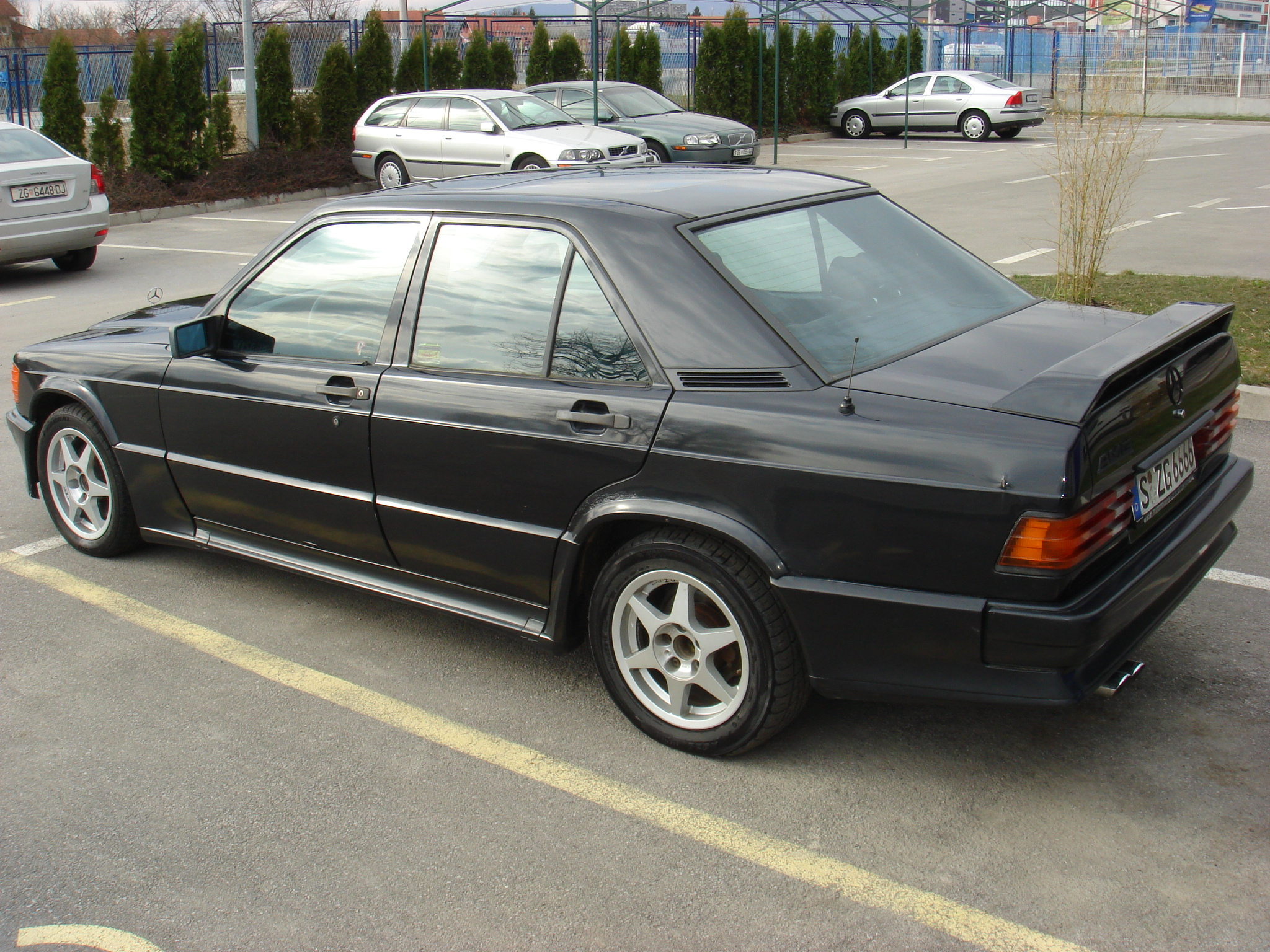 mercedes 190e 2 3 16 amg performance trackday cars for. Black Bedroom Furniture Sets. Home Design Ideas