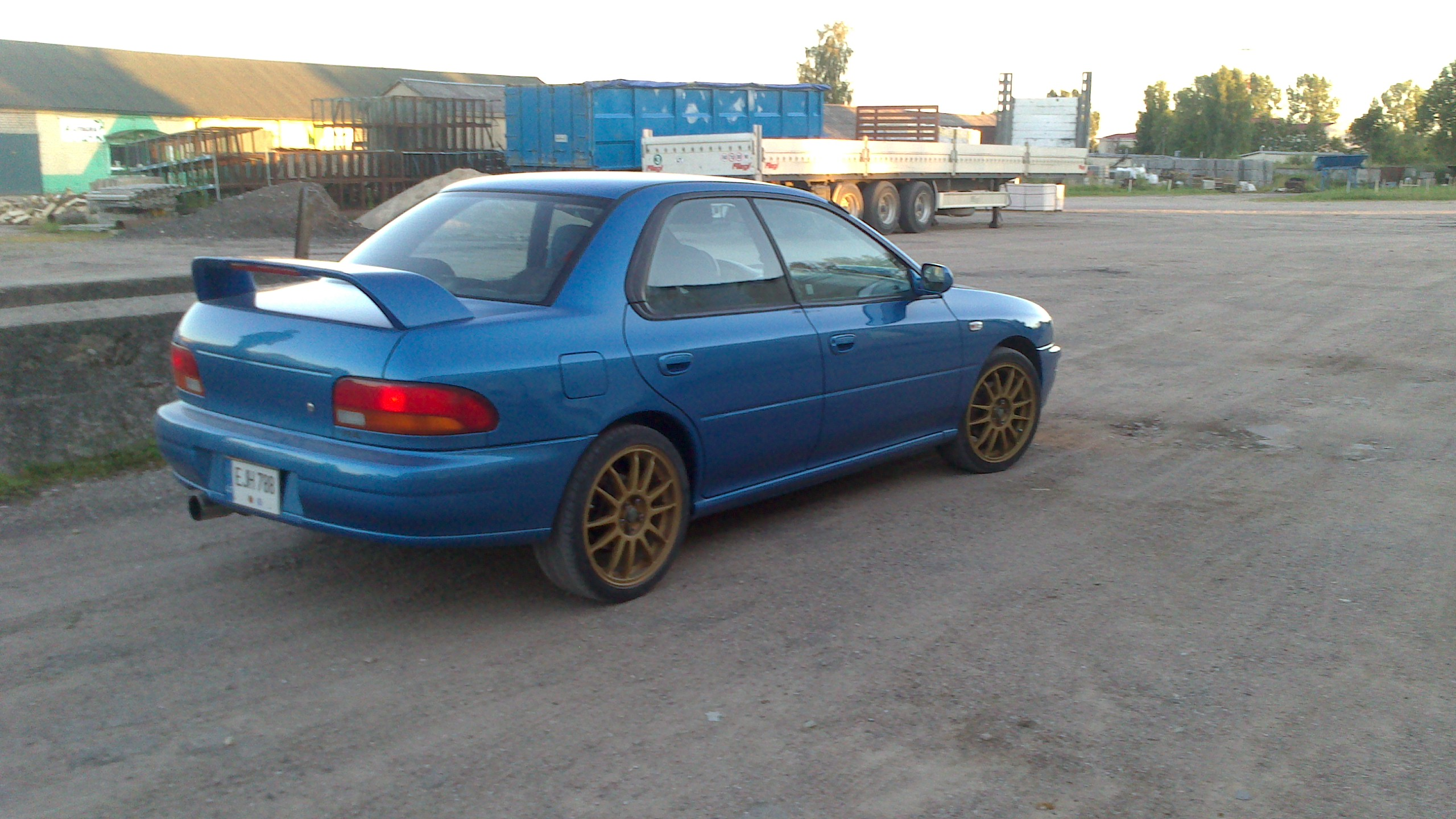 Performance Trackday Cars For Sale At: Subaru WRX RA Limited Edition LHD