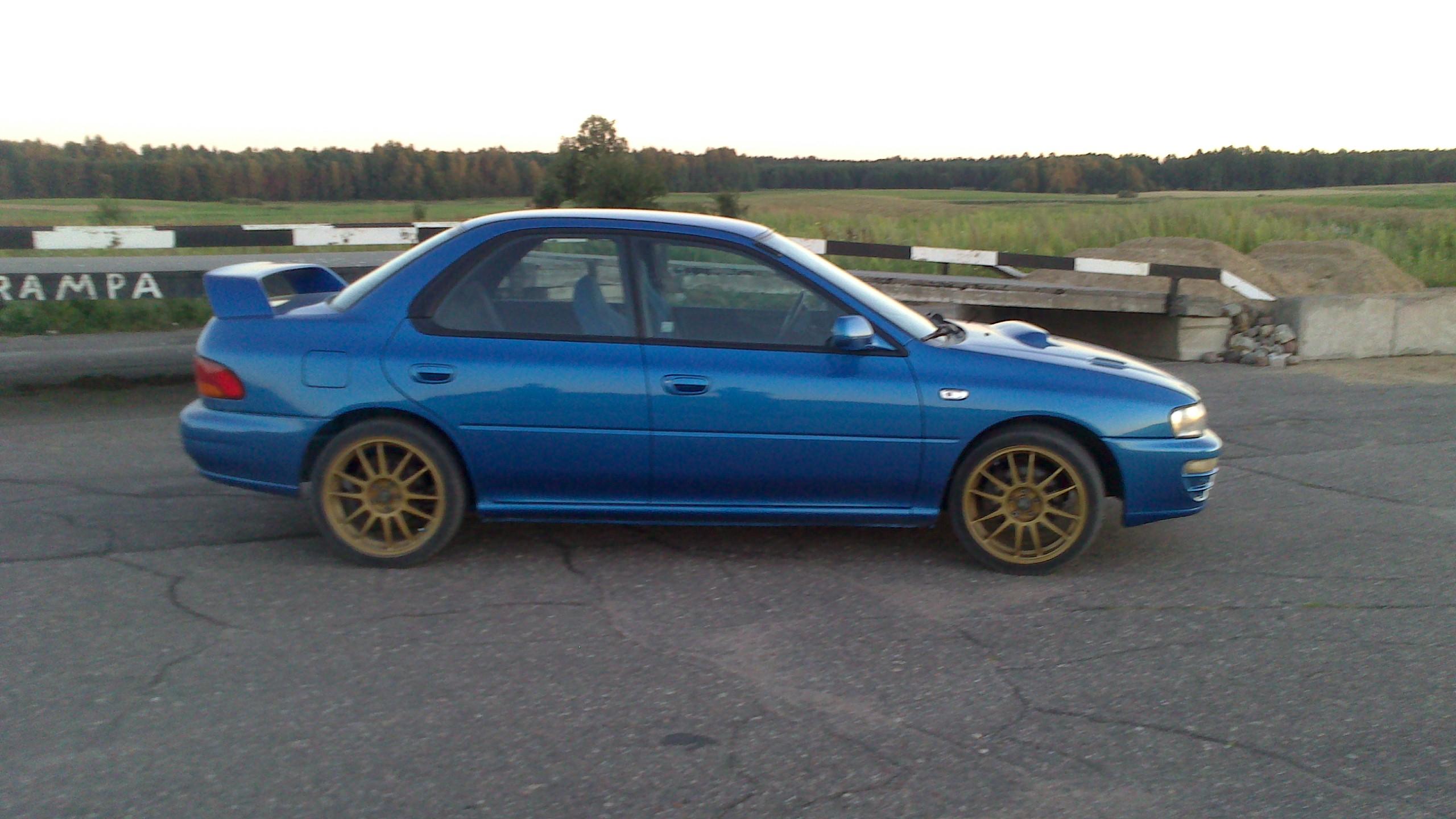 Performance Trackday Cars: Subaru WRX RA Limited Edition LHD