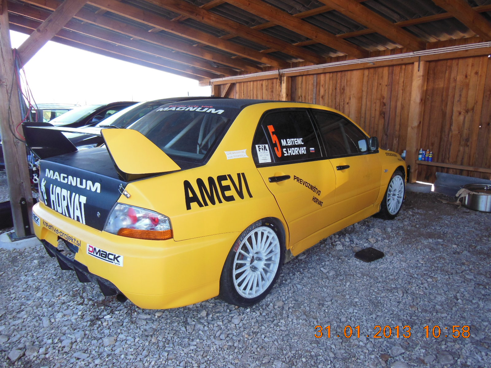 mitsubishi lancer evo 9 rally cars for sale at raced rallied rally cars for sale race. Black Bedroom Furniture Sets. Home Design Ideas
