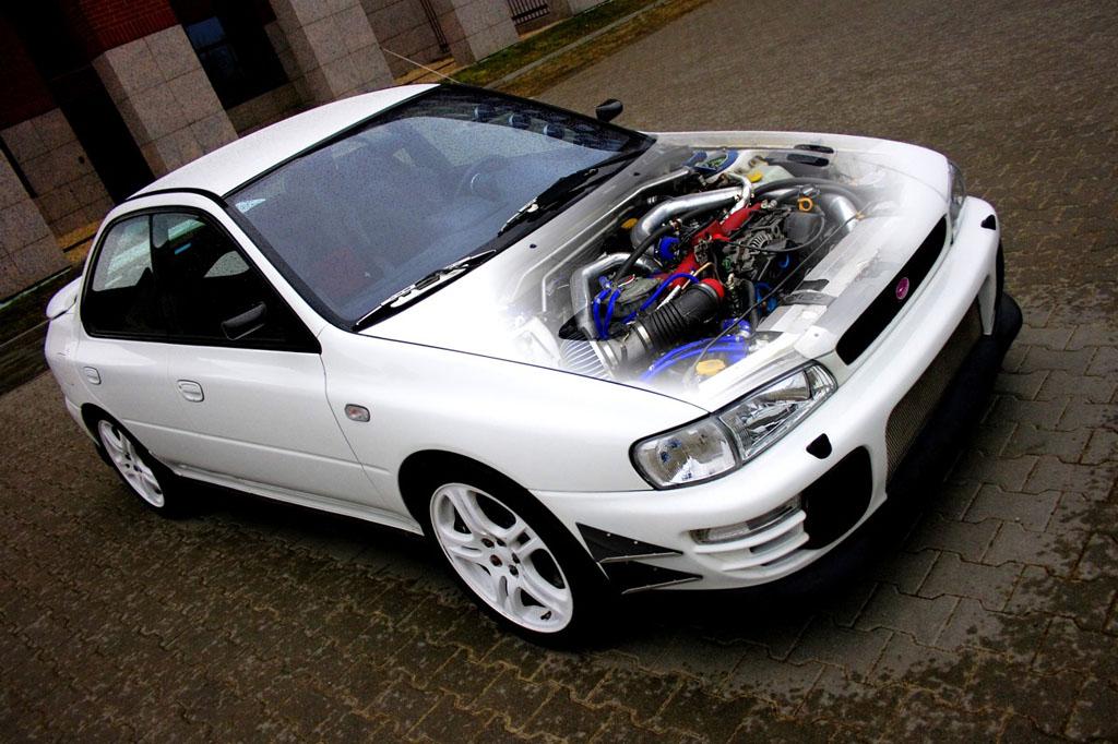 Performance Trackday Cars: Tomei Stroker EJ22 Subaru Impreza STI Hybrid Classic