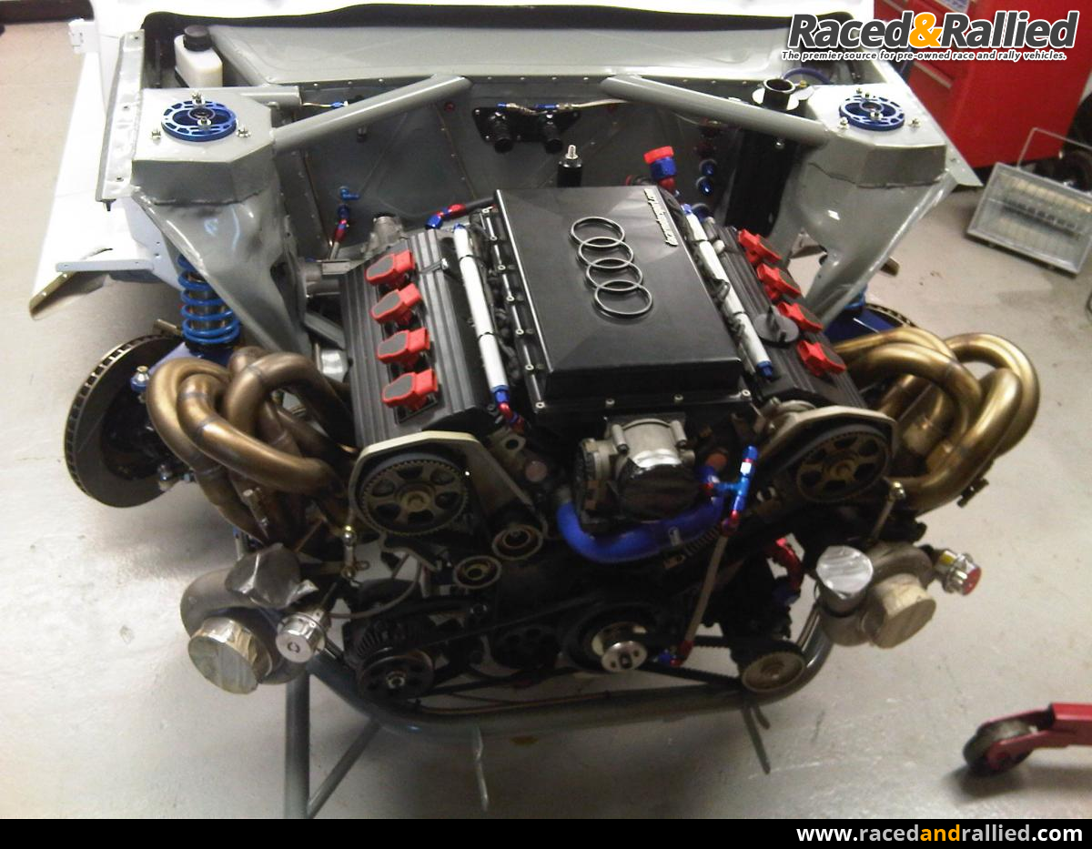 Epic Audi S1 V8 build thread from the Raced & Rallied Blog | Race ...