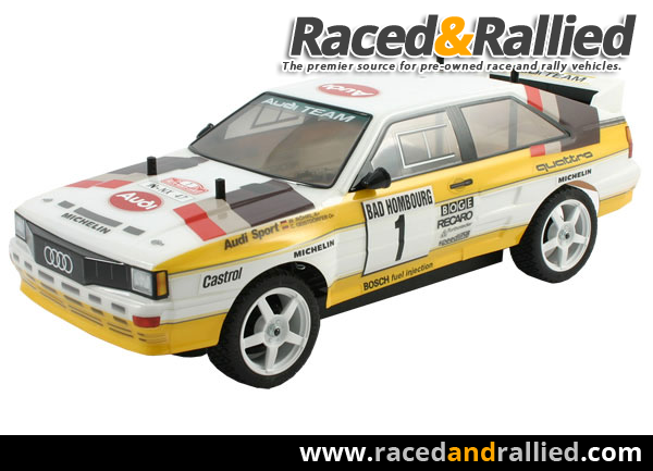 Audi Quattro Rc Car From The Raced Amp Rallied Blog Race