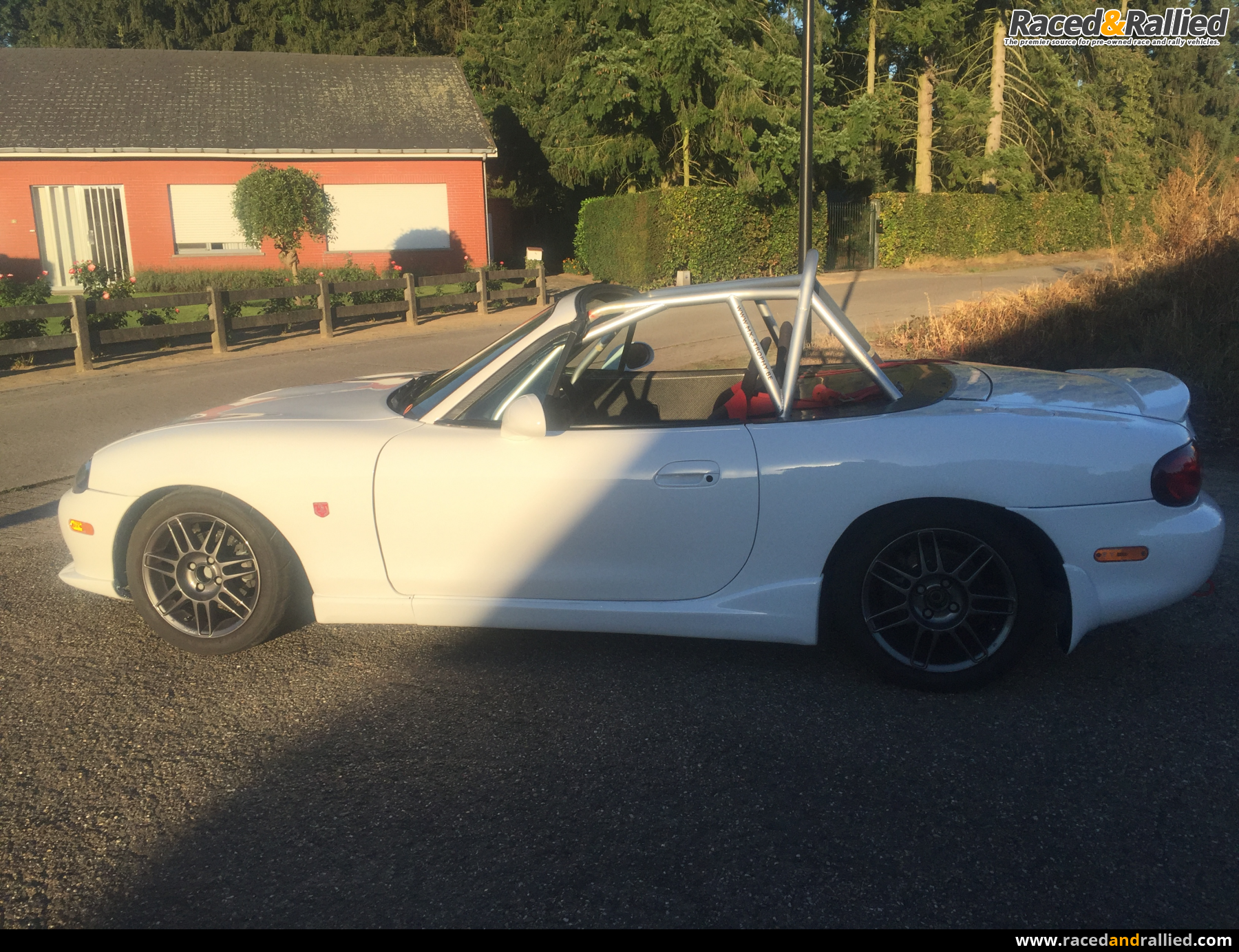 mazda MX5 trophy | Race Cars for sale at Raced & Rallied | rally ...