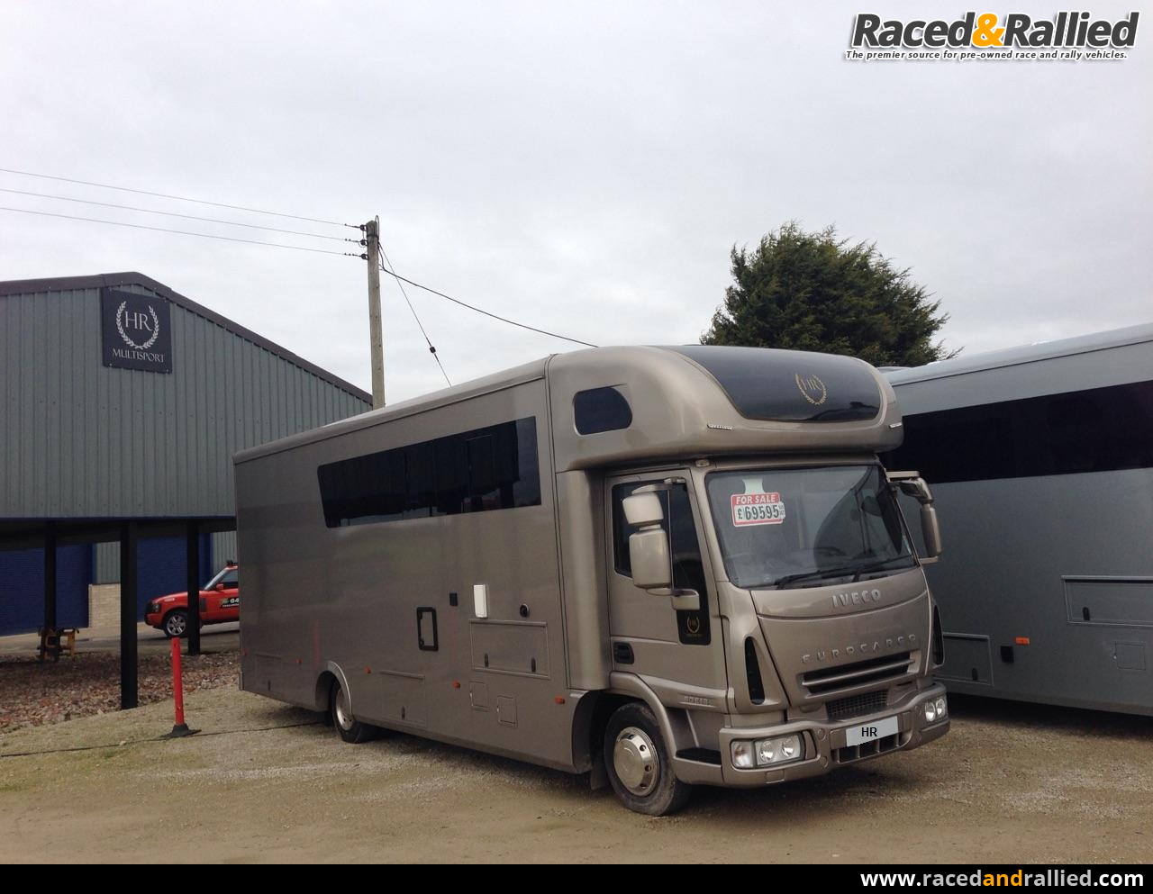 Stunning Tail Lift Car Race Transporter Motorhome With