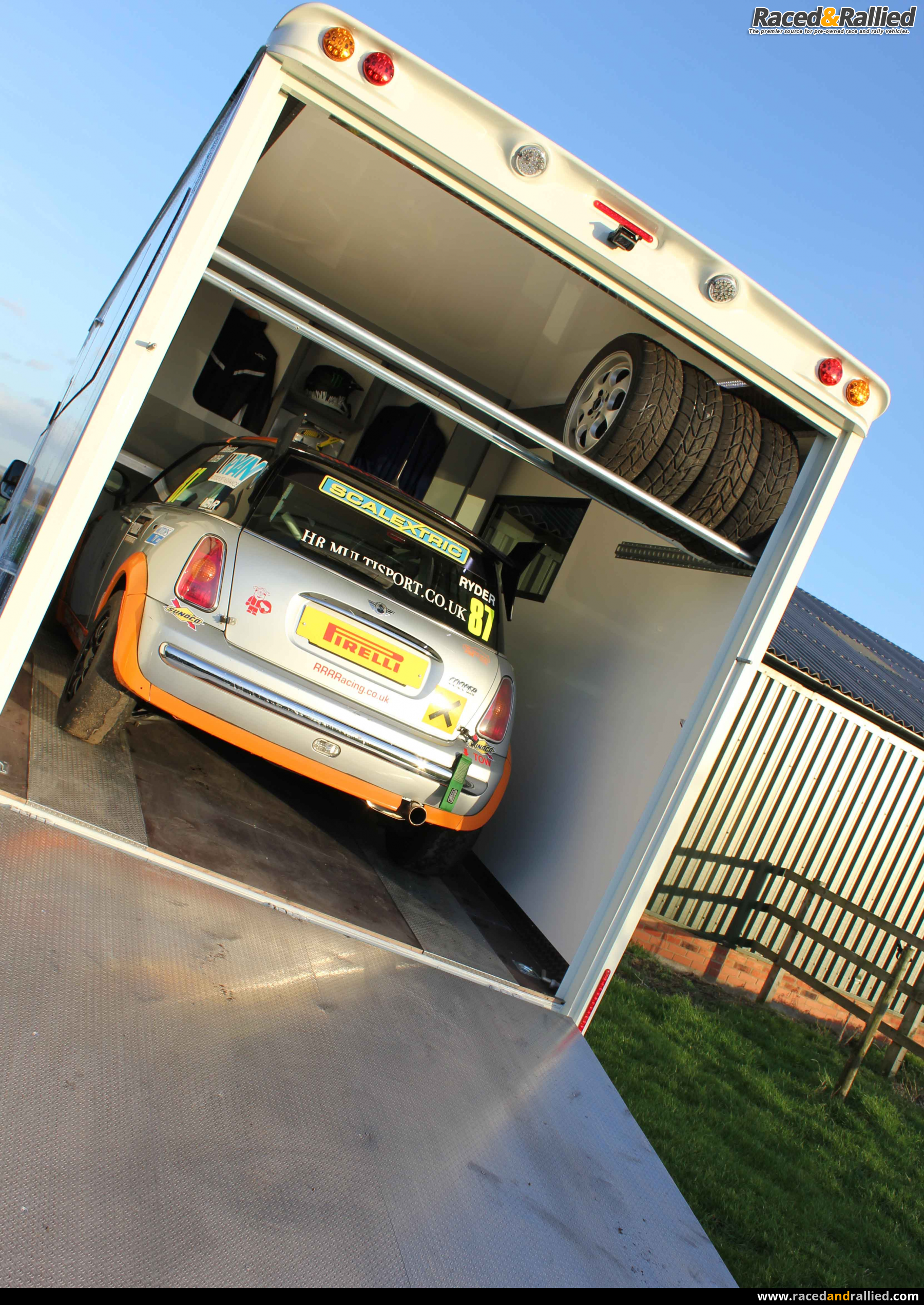Race Cars For Sale >> Stunning Motorhome Car Carrier 6 Berth 7 T Iveco Daily ...