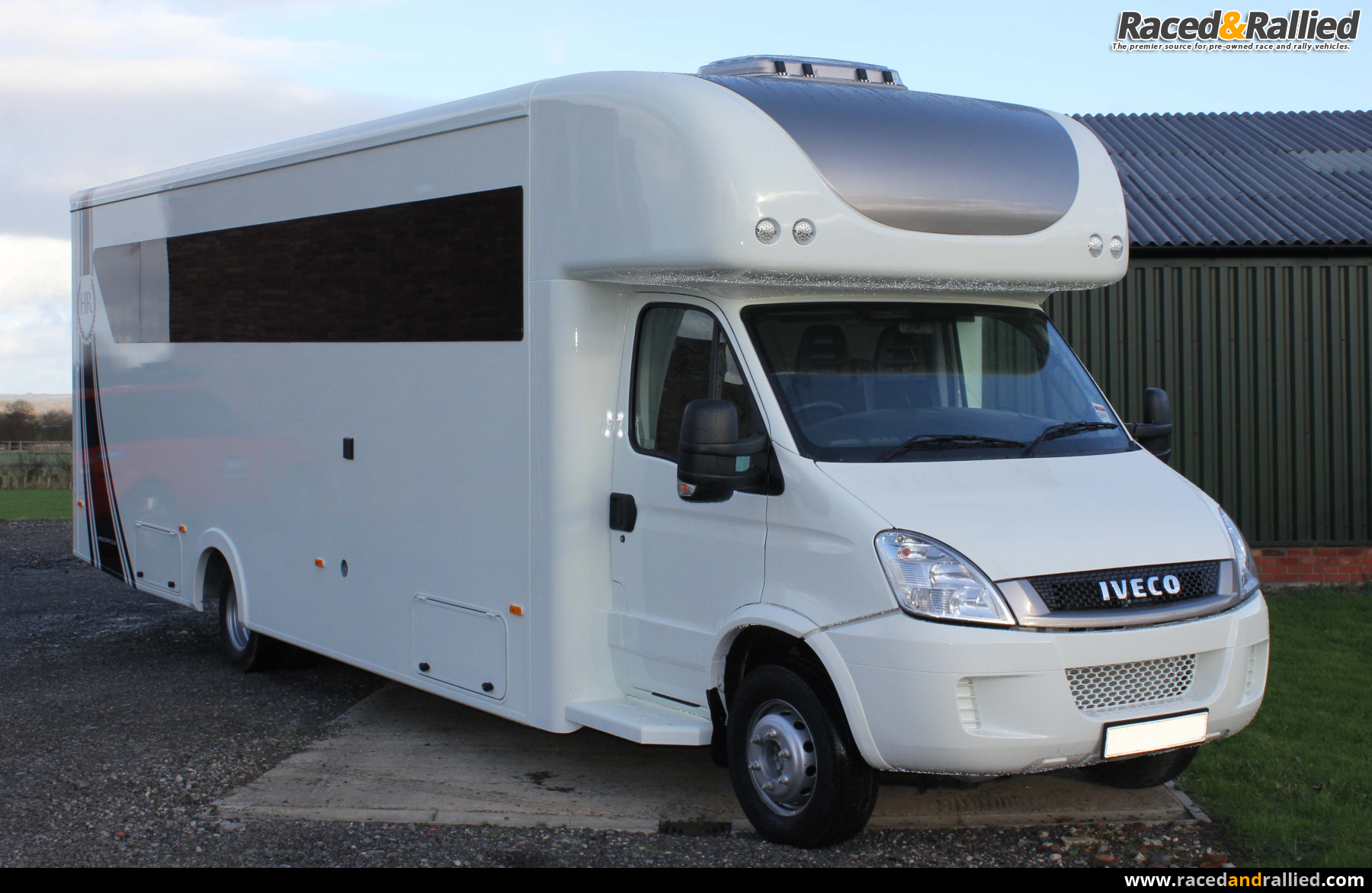Stunning Motorhome Car Carrier 6 Berth 7 T Iveco Daily