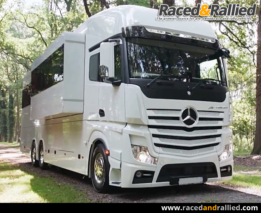 Brand new LHD Mercedes Actros Gigaspace Luxury motorhome