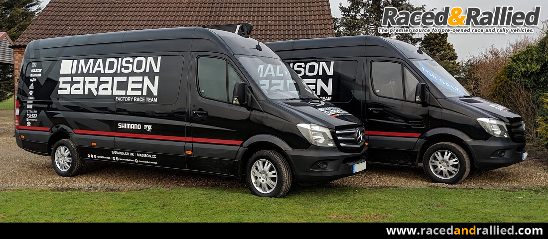 Mercedes Sprinter Xlwb Huge Cab Spec And Gh 13m X 4m