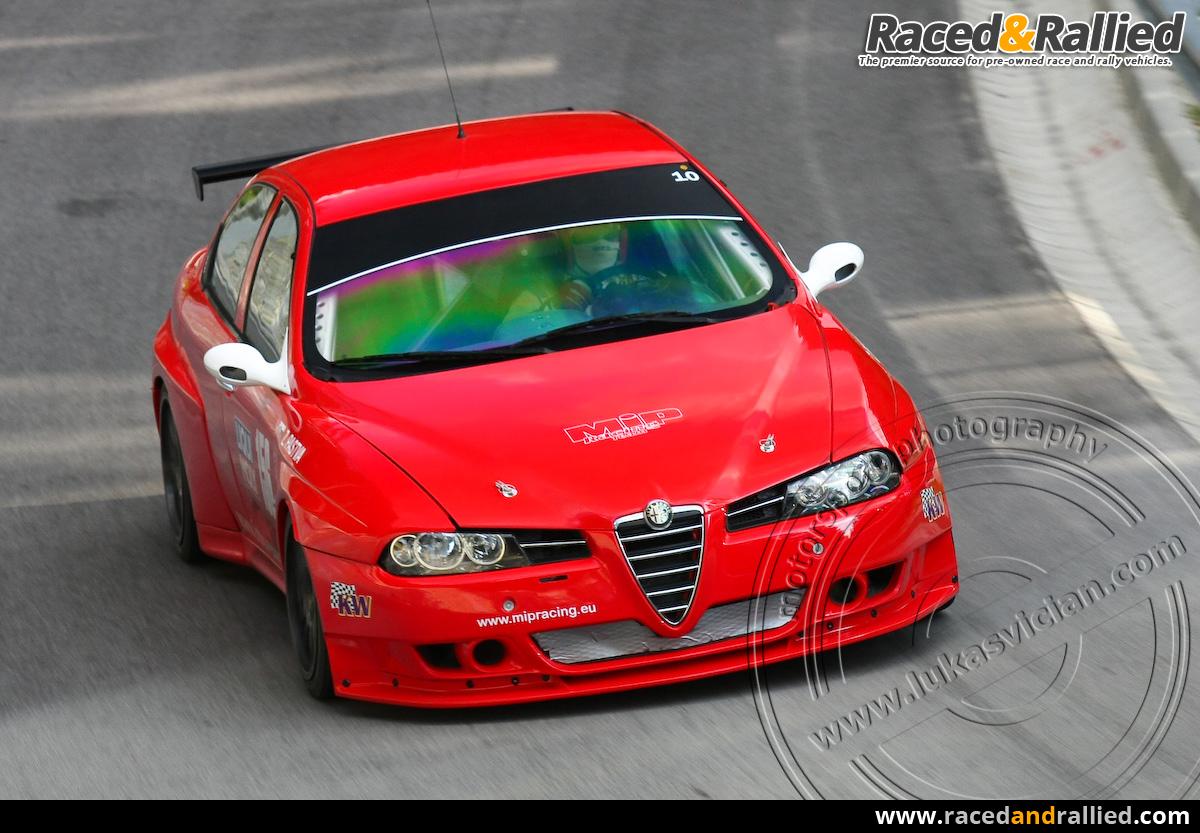 Alfa Romeo 156 S2000 Wtcc Rally Cars For Sale At Raced