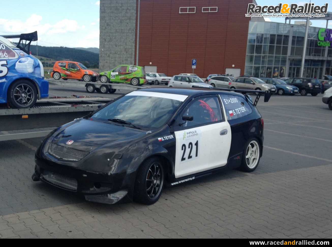 Honda Civic E1-2000 Hillclimb | Race Cars for sale at Raced & Rallied | rally cars for sale ...