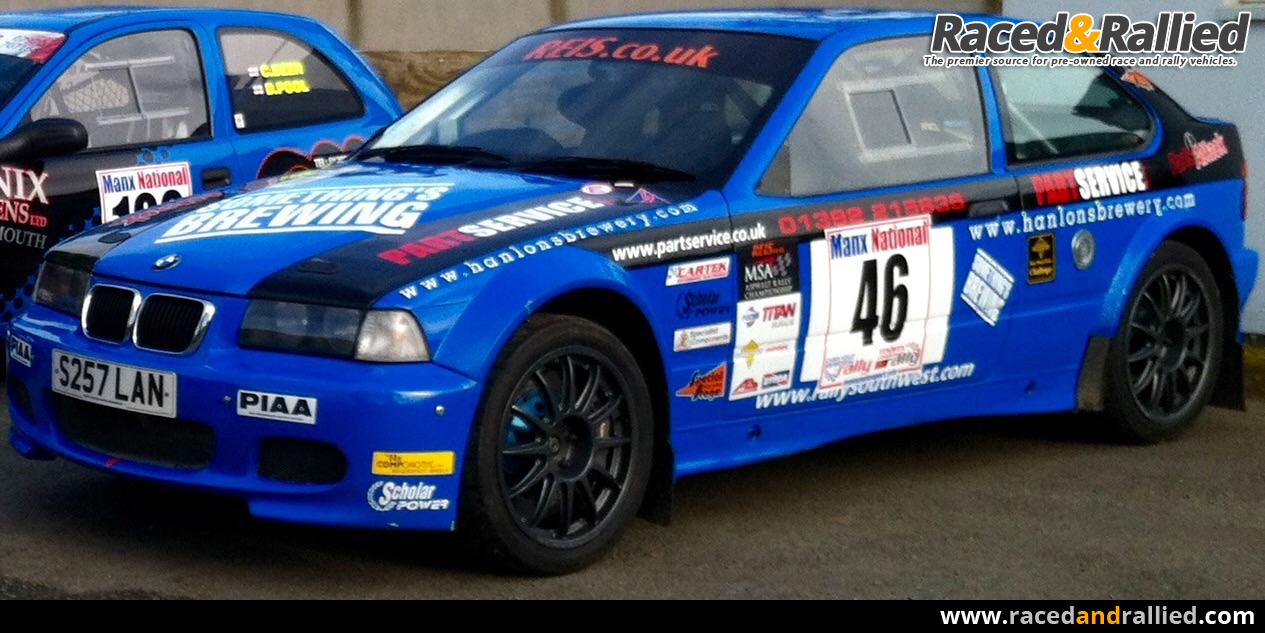 Bmw Compact Maxi 2 5 Rally Cars For Sale At Raced Rallied