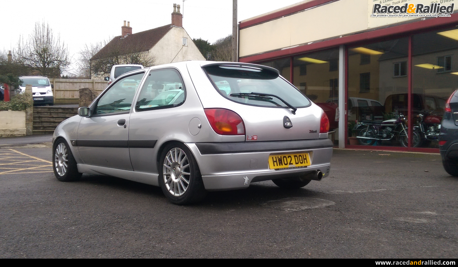 Race Car For Sale >> 2002 fiesta zetec S | Performance & Trackday Cars for sale at Raced & Rallied | rally cars for ...