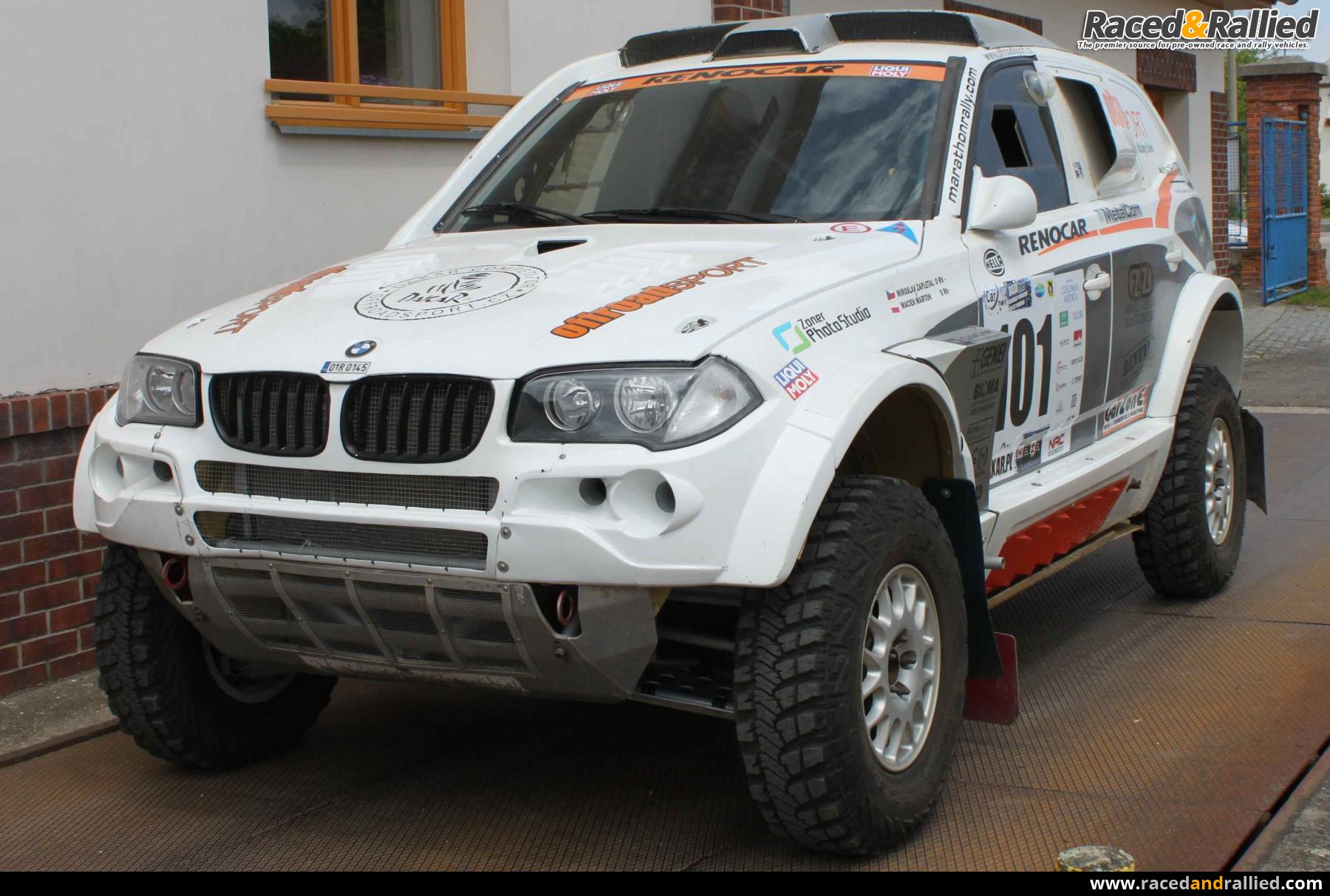Bmw X3 Cc X Raid Rally Cars For Sale At Raced