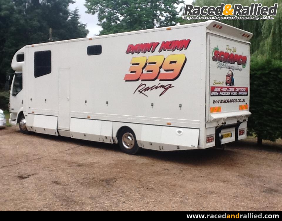 Daf 10 Ton Race Car Transporter Motorhome Trailers
