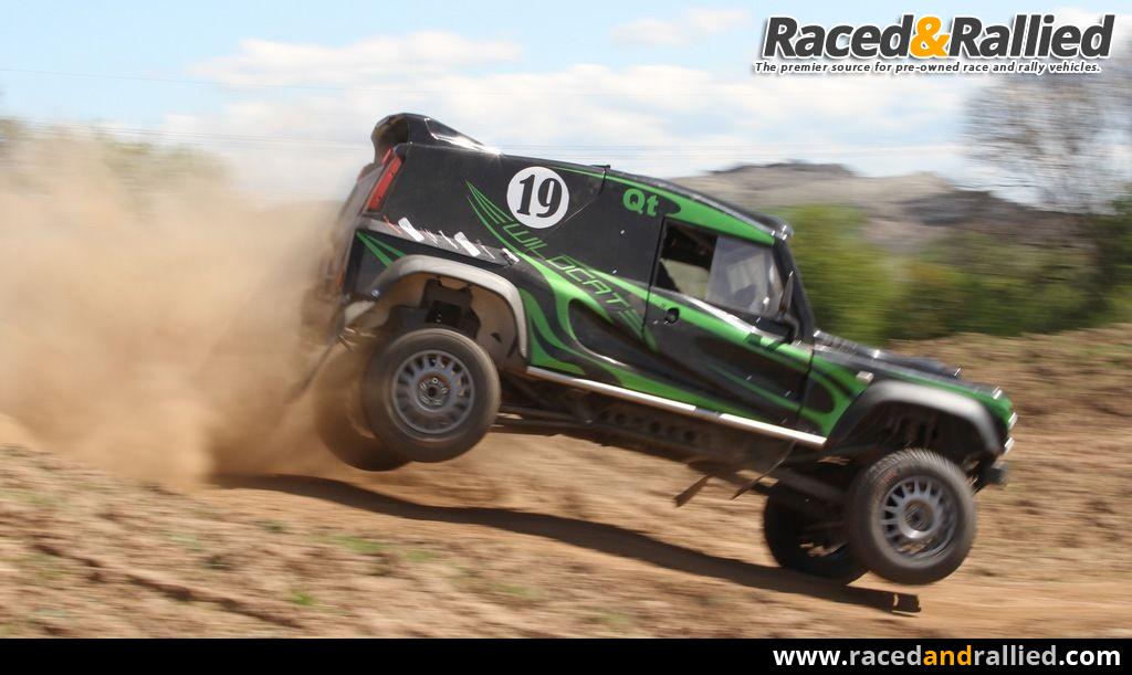 Bowler Wildcat 200 Comp Safari Rally Raid Off Road