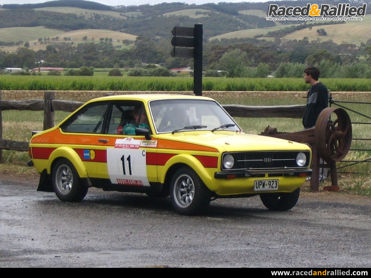 Escort Gr 4 BDG ex works Ford Australia rally car | Rally Cars for ...