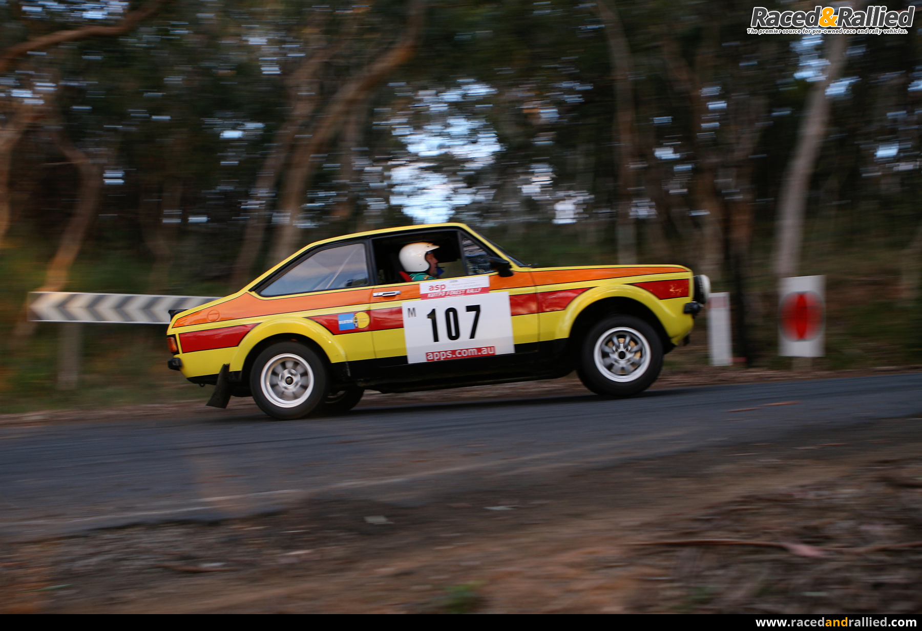 Car Sale Contract >> Escort Gr 4 BDG ex works Ford Australia rally car | Rally Cars for sale at Raced & Rallied ...
