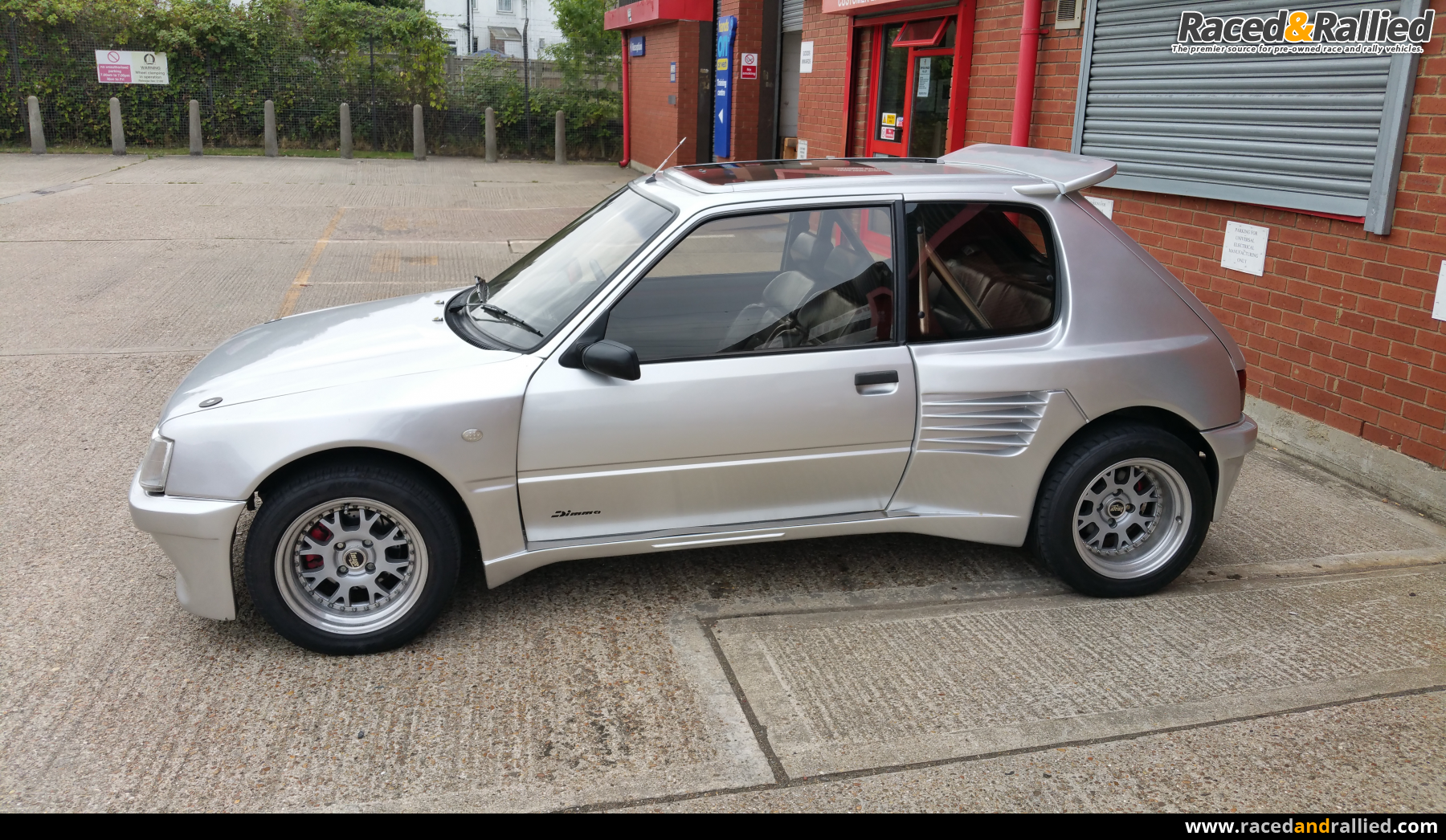 peugeot 205 gti dimma performance trackday cars for sale at raced rallied rally cars for. Black Bedroom Furniture Sets. Home Design Ideas