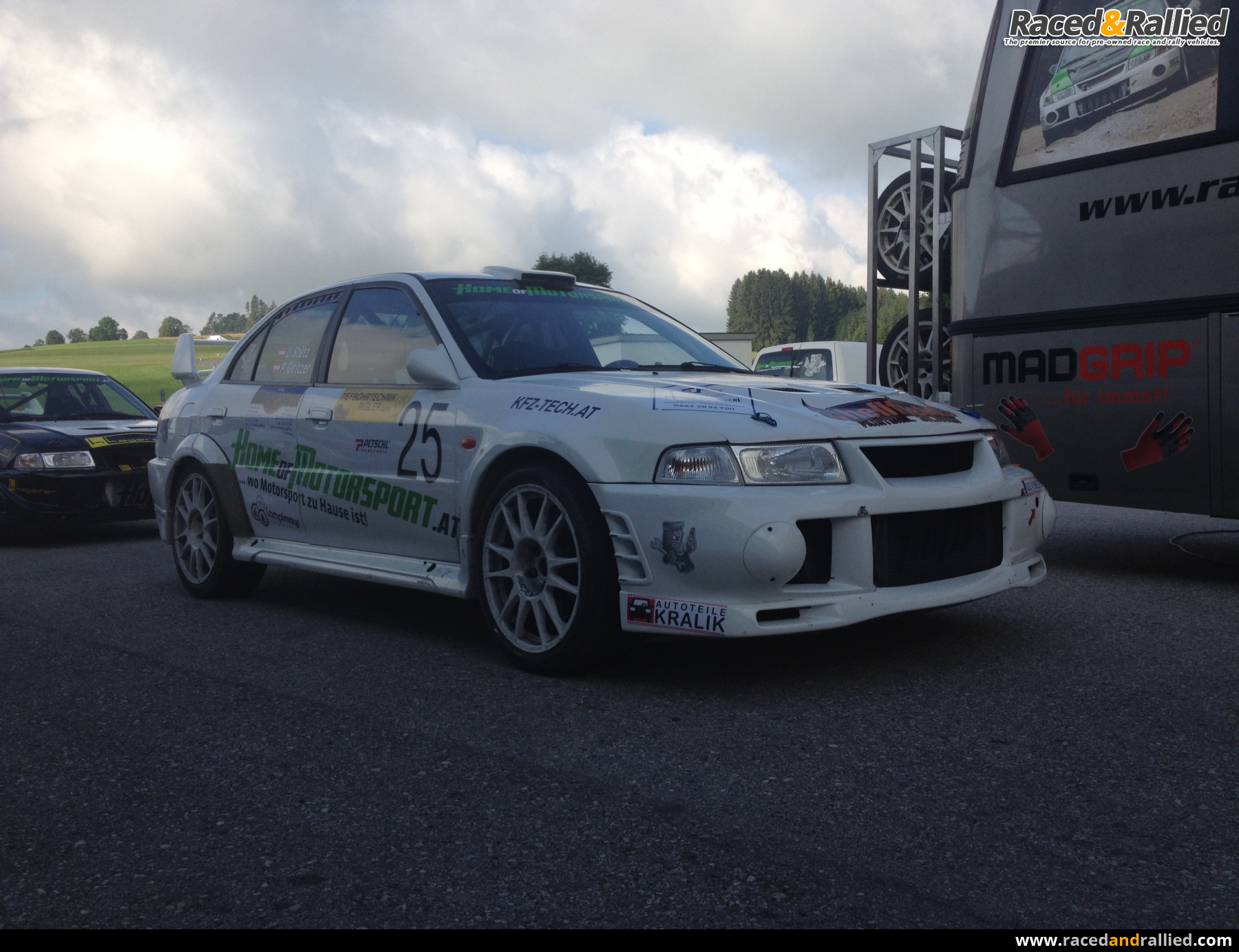 mitsubishi evo 6 for sale rent rally cars for sale at raced rallied rally cars for sale. Black Bedroom Furniture Sets. Home Design Ideas