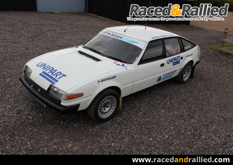 Rally Cars For Sale At Raced: Rover SD1 Historic Race / Rally Car
