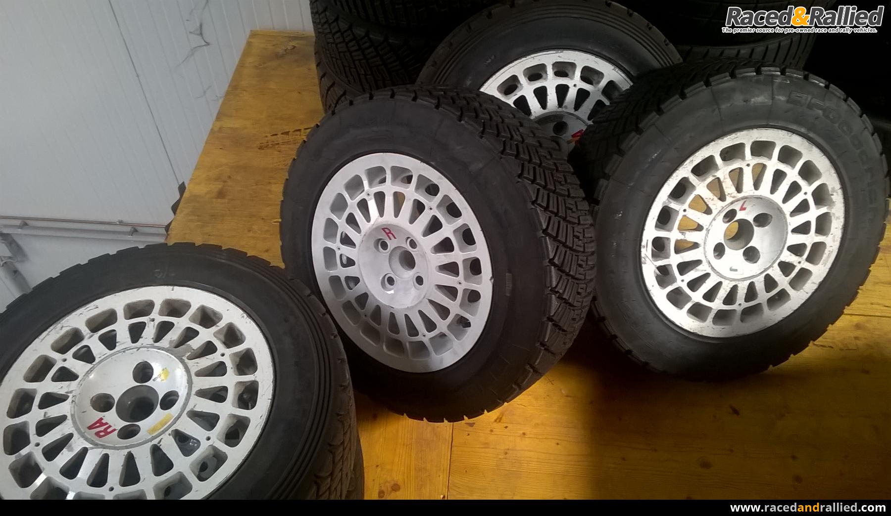 Lancia Delta Integrale Gr.A Magnesium wheels | Rally Car ...