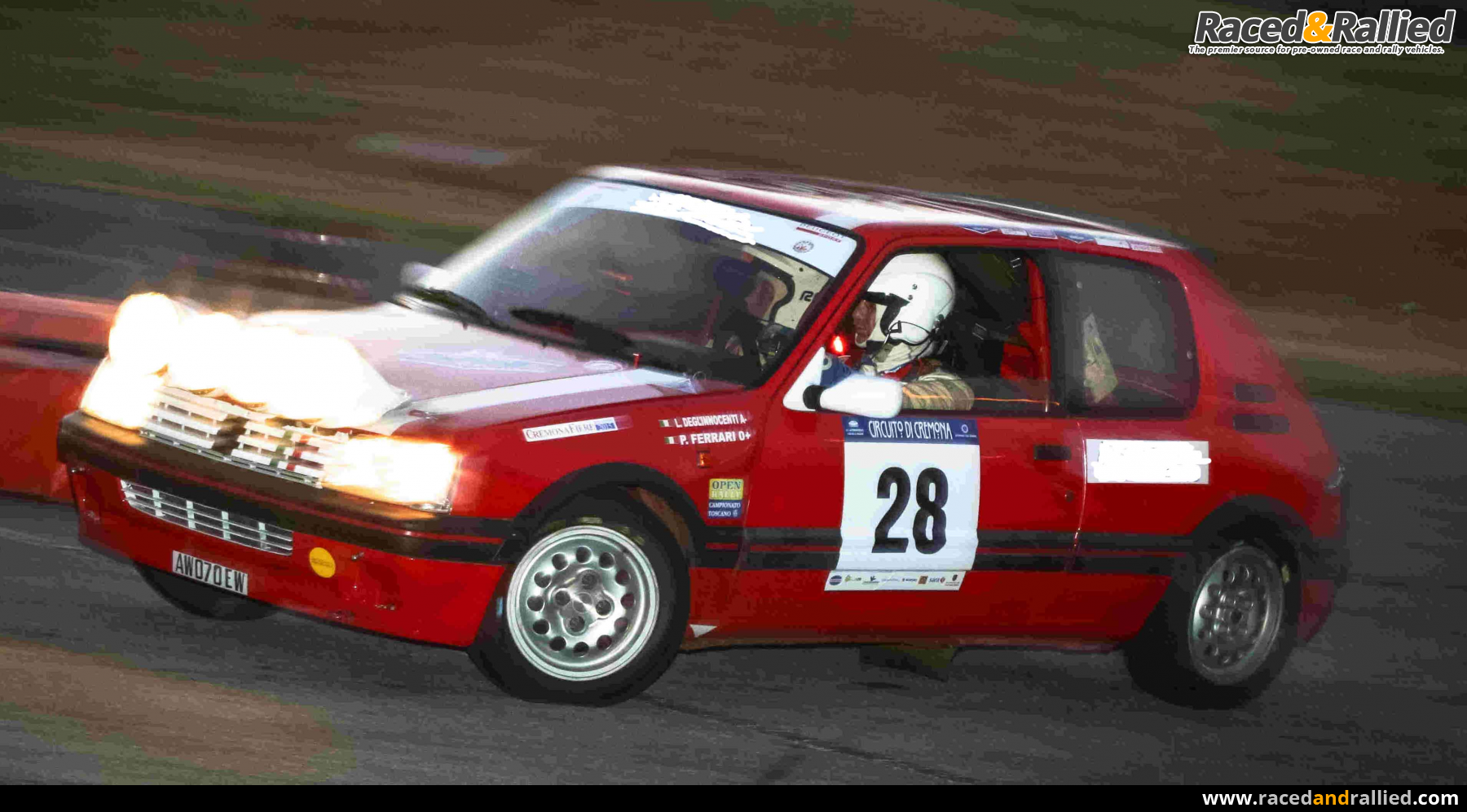 PEUGEOT 205 GTI 1600 1° SERIES GROUP A HTP J1   Rally Cars for sale ...
