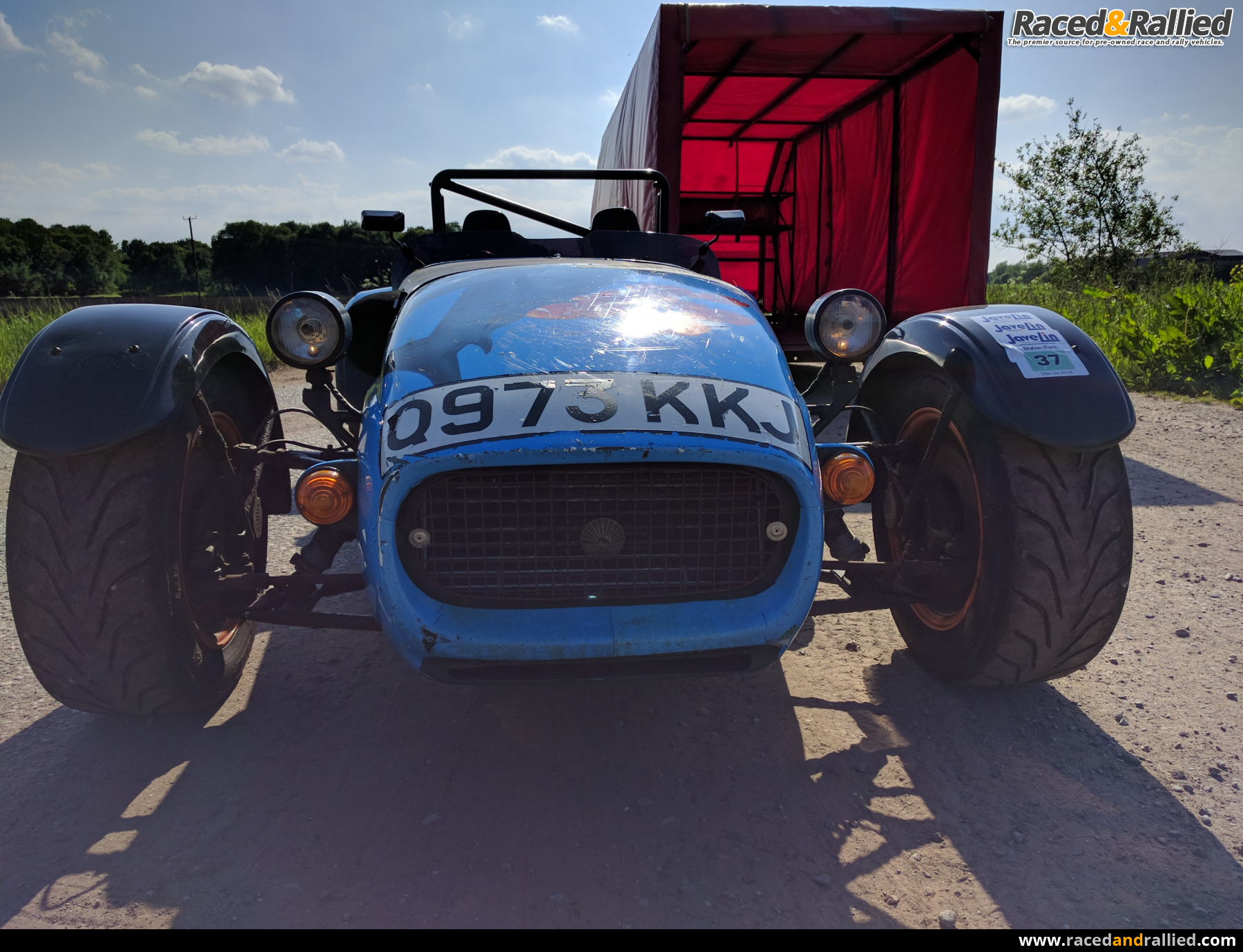Westfield track / Road car with Covered Trailer | Westfields for ...