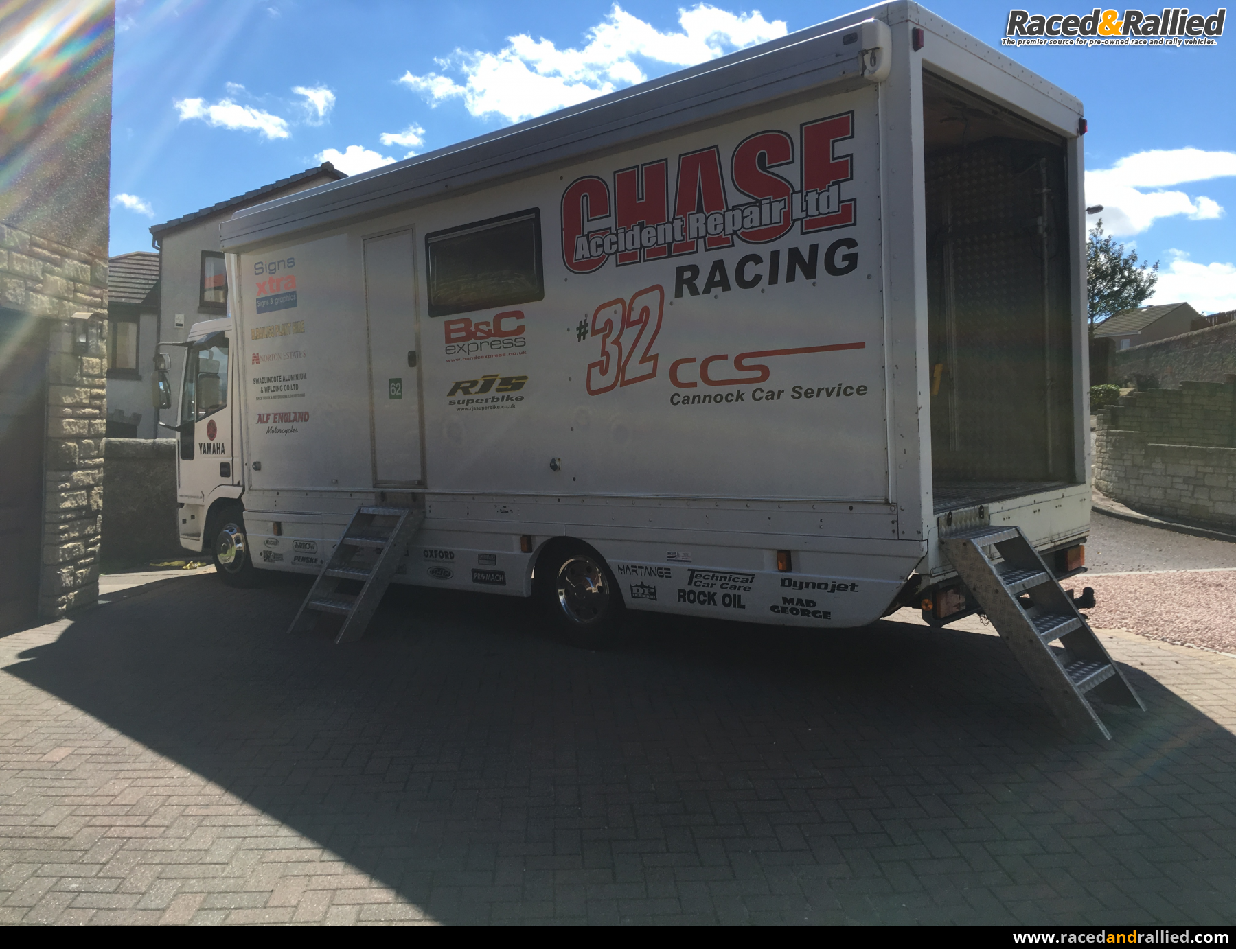 Campervans For Sale >> Iveco Race Lorry / Motorhome 4 berth 7.5 Tonne | Trailers & Transporters for sale at Raced ...