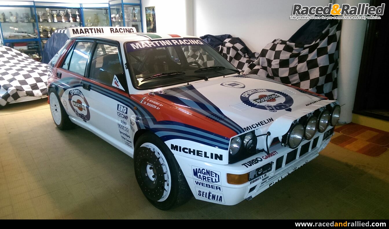 lancia delta integrale rally cars for sale at raced rallied rally cars for sale race cars. Black Bedroom Furniture Sets. Home Design Ideas