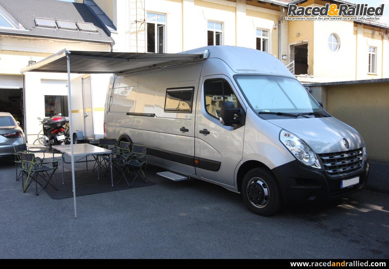 Renault master motor home trailers transporters for for Motor house auto sales