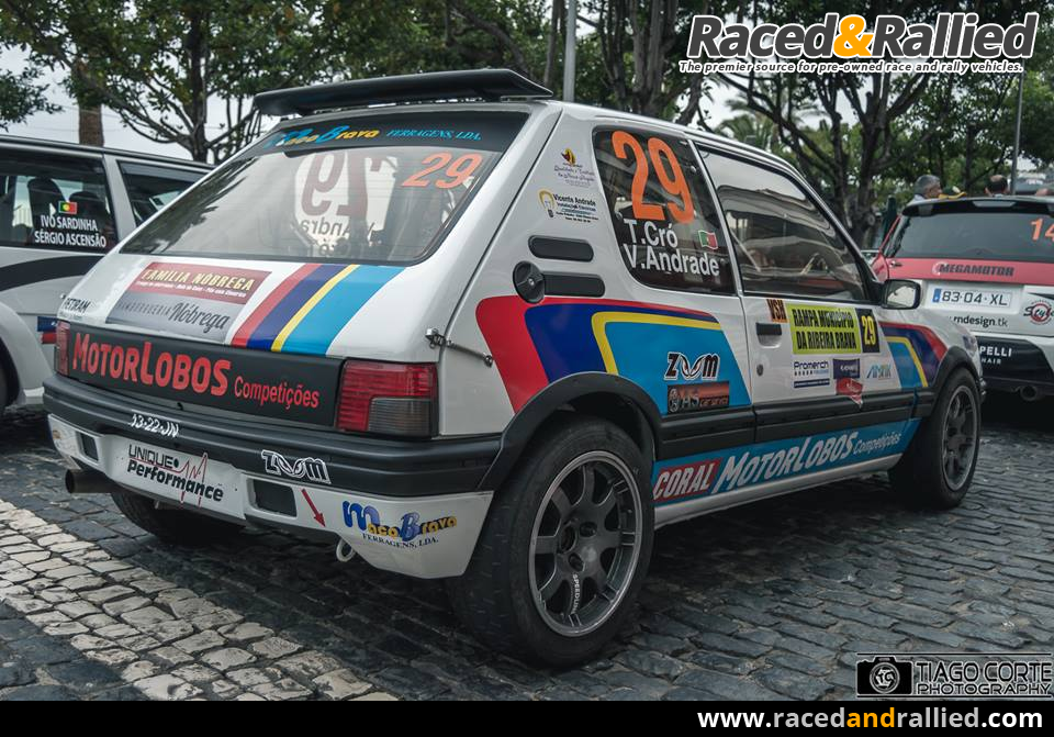 Race Cars For Sale >> Peugeot 205 GTI rally car | Rally Cars for sale at Raced & Rallied | rally cars for sale, race ...