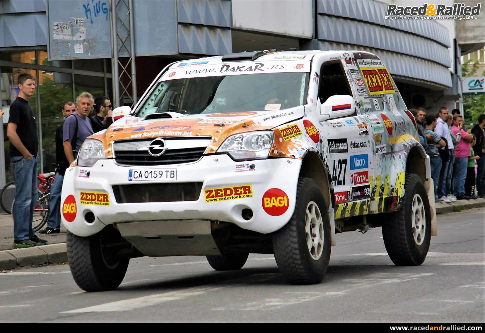Vehicles For Sale: Opel Antara RR3 Dakar For Sale