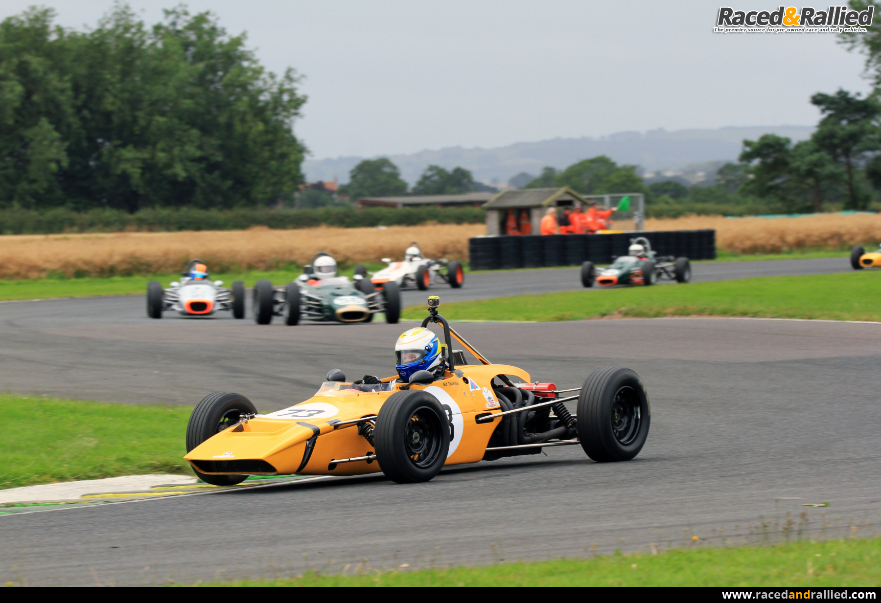 Elden Mk 8 Chassis 10 Historic Ff 1600 Race Cars For
