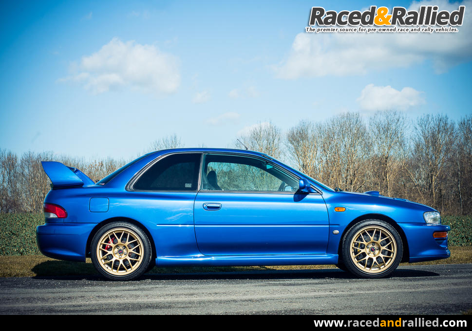 Prince Naseem Hamed's Subaru Impreza 22B   Race Cars for sale at