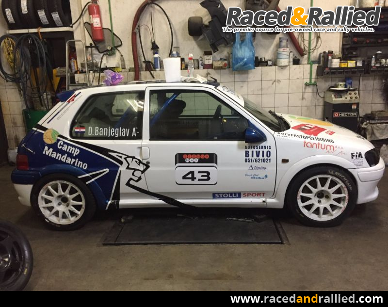 Brembo Brake Pads >> Peugeot 106 A6   Rally Cars for sale at Raced & Rallied ...