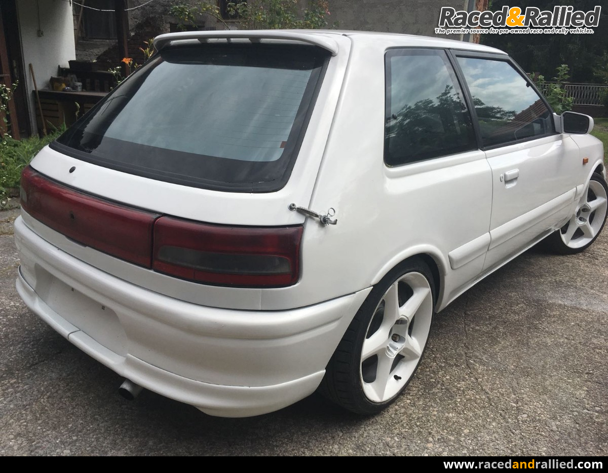 Mazda 323 Gtr 4wd Rally Cars For Sale At Raced Amp Rallied