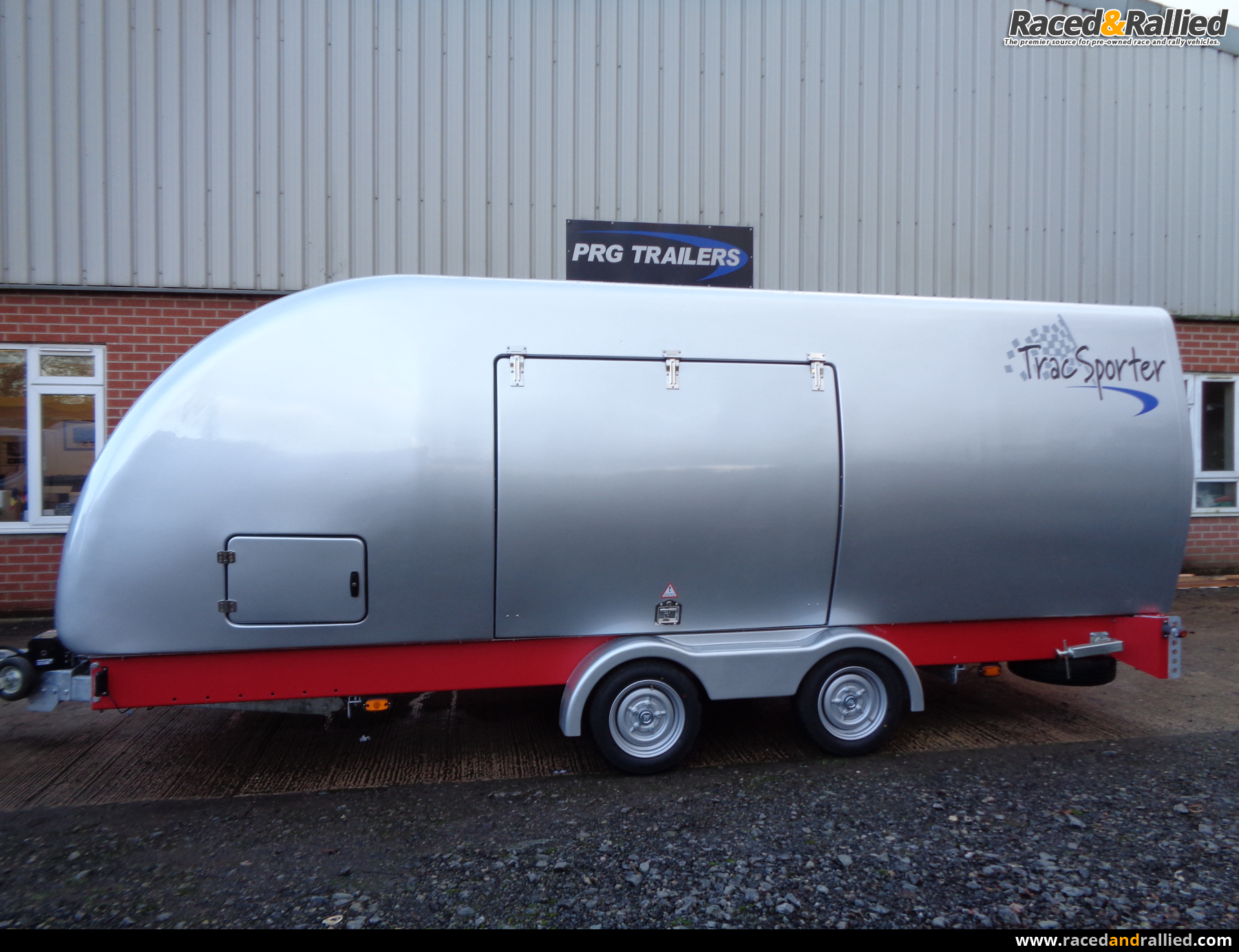 PRG Tracsporter Covered Trailer | Trailers & Transporters for sale ...